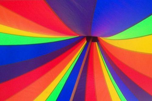 rainbow tent canopy