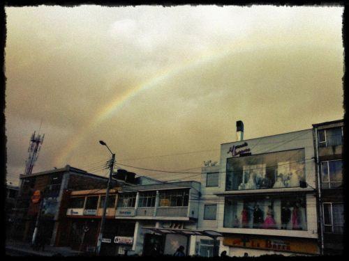 Rainbow In Bogota
