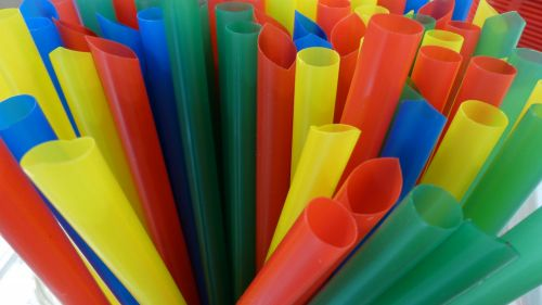 Rainbow Of Straws