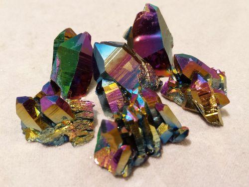 rainbow quartz quartz aura