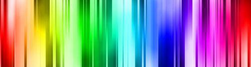 Rainbow Spectrum Banner