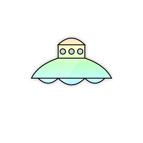Rainbow Ufo
