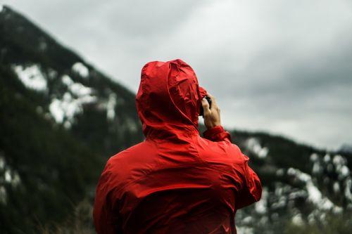 raincoat weather man