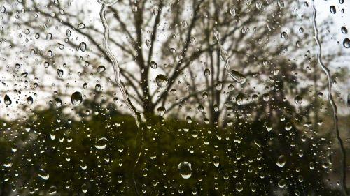 raindrop glass rain