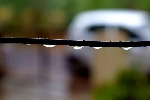 rains drops water