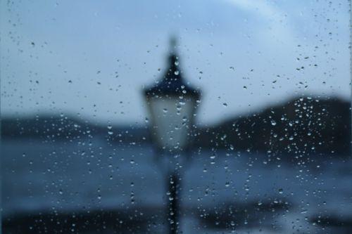 rainy window raindrops