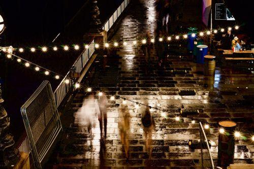 rainy day rainy night lights
