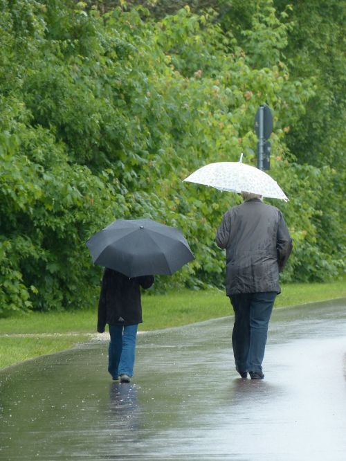 rainy weather horrible walk