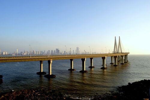 rajiv gandhi sea link suspension bridge bandra-worli sea link