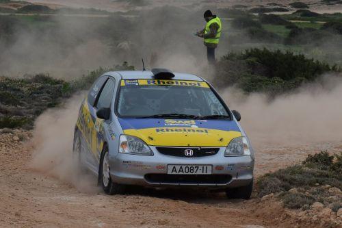 rally race car