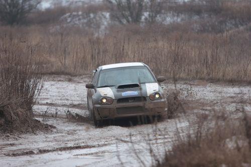 rally racing auto