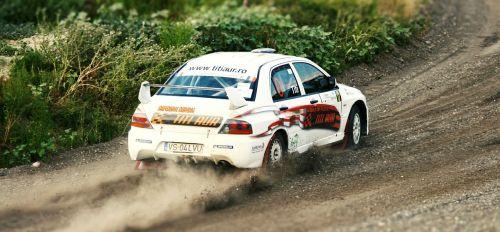 rally car mitsubishi
