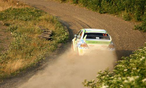 rally rallycross mitsubishi