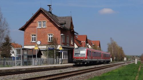 rammingen vt 628 units railway station