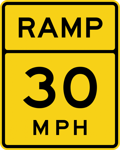 ramp road speed