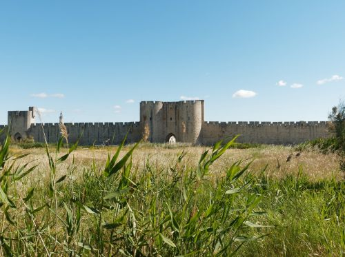 ramparts aigues-mortes france