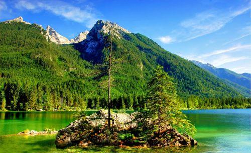 ramsau hintersee mountains