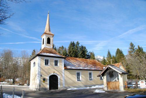 ramsau berchtesgaden chapel