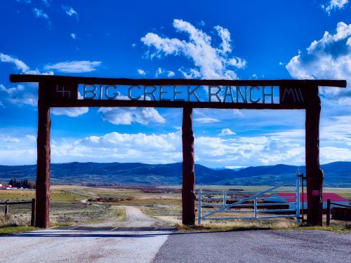 ranch farm sign