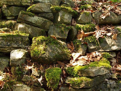 Random Rock Wall Background