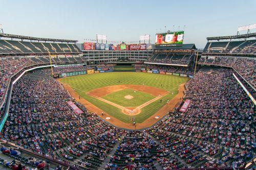 rangers ballpark baseball
