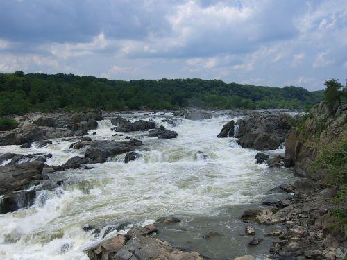 rapids rocks river