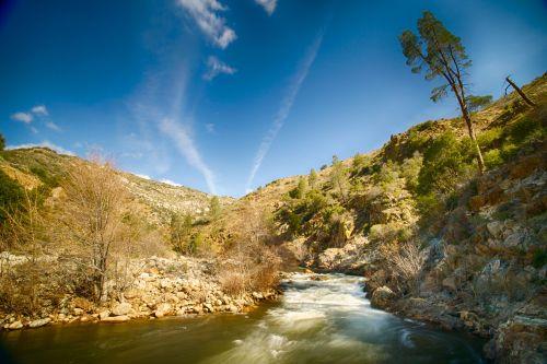 Rapids In Kern Valley