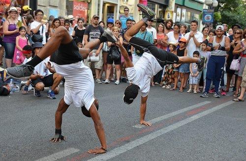 rappers  street dance  performance
