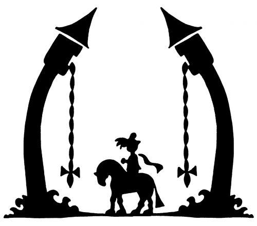 rapunzel prince horse