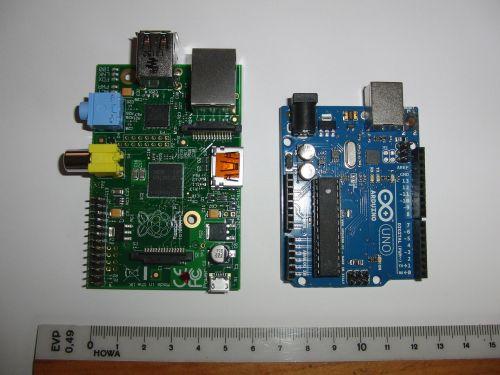 raspberry arduino electronics