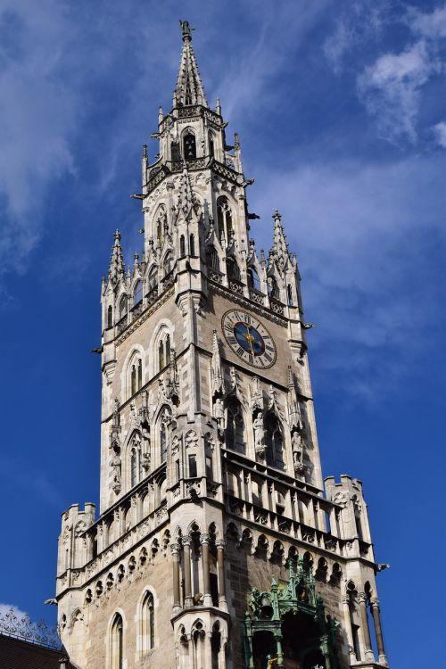 rathaus munich munich tower