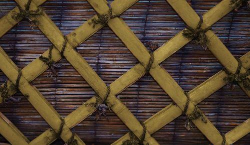 rattan basket decorative