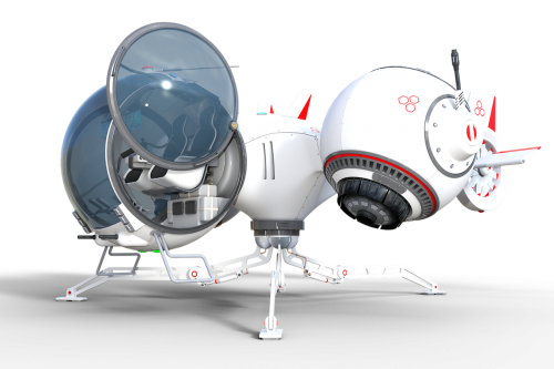 raumgleiter spaceship oblivan