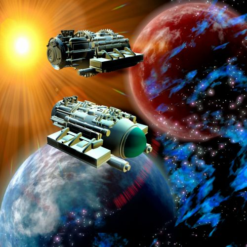 Spaceships In Universe