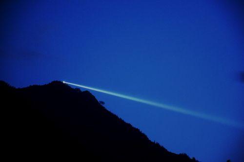 ray of light spotlight light