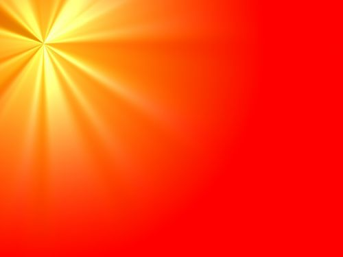 rays shine light