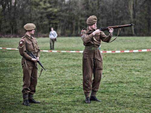 re-enactors british liberation