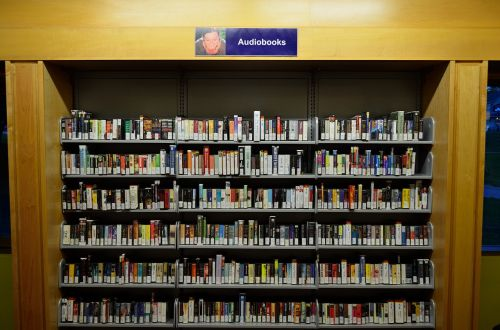 reading audio books e book