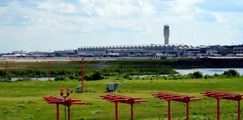 kraštovaizdis, architektūra, oro uostas, dca, nacionalinis & nbsp, oro uostas, Reagan & nbsp, nacionalinis, Vašingtonas, Reagano nacionalinis oro uostas