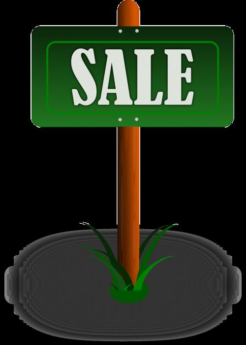 real estate sign sale