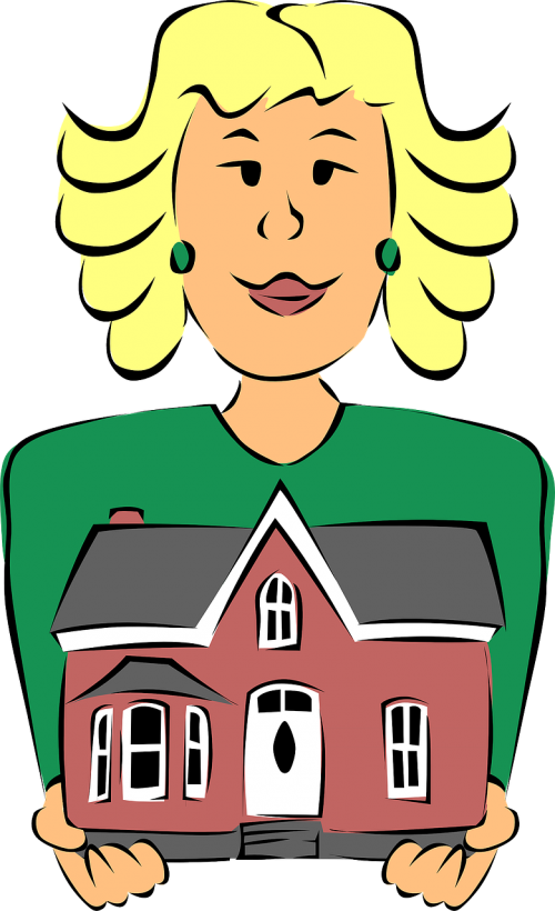 real estate agent agent house