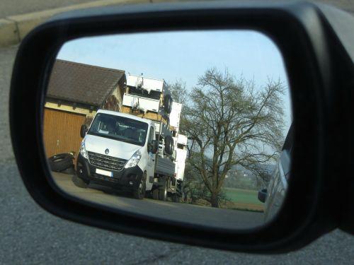 rear mirror truck trailers