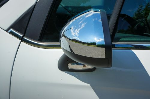 rear mirror chrome auto