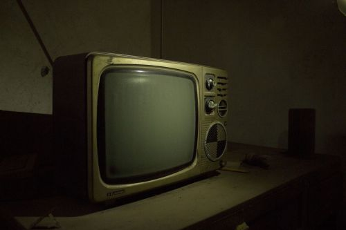 recall black and white tv old