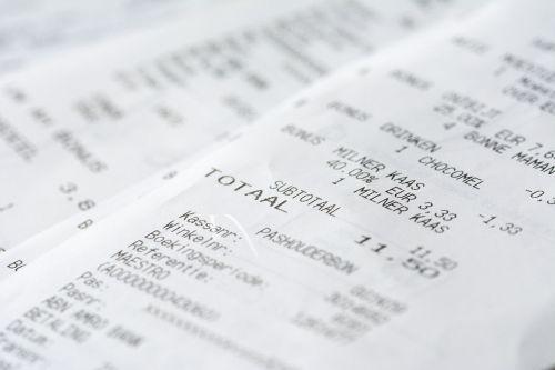 receipt money messages