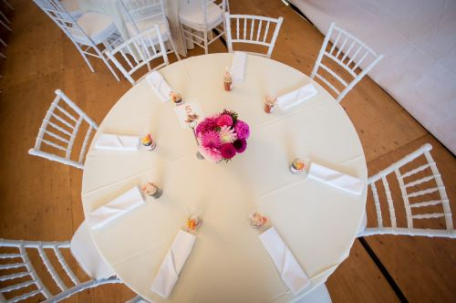 reception head table wedding