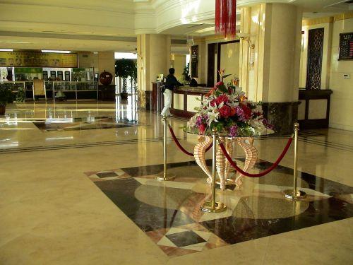 reception hotel entrance hall