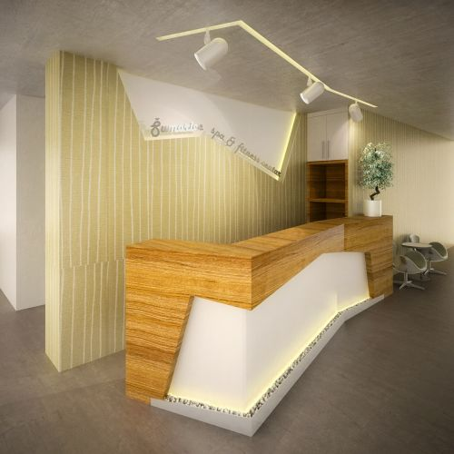 reception hotel desk