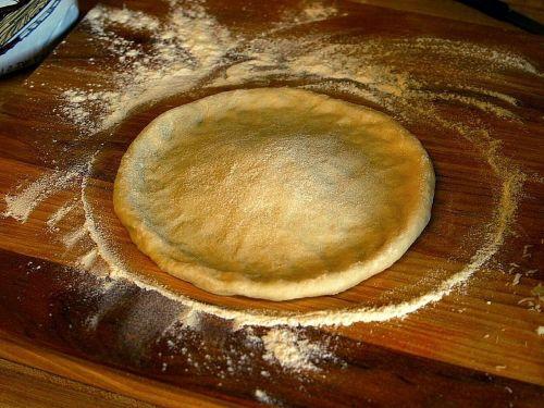 recipe dough pizza