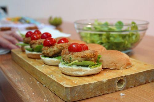 recipes burgers vegetables